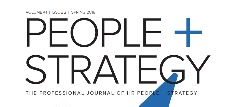 People + Strategy Spring 2018 Issue